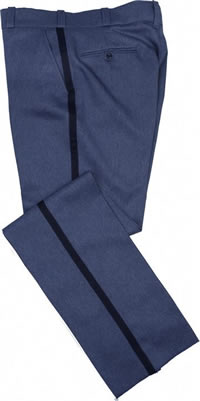Stretch waist band relaxed cut stlye lightweight trousers. O