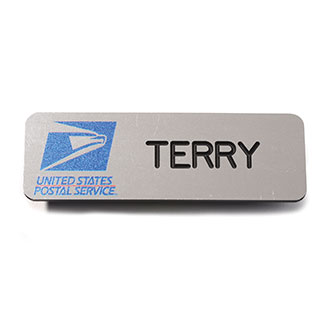 USPS Employee Authorized Lightweight Plastic Name Badge